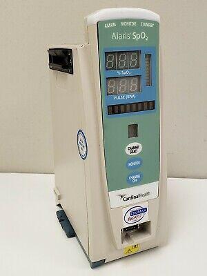 Alaris Cardinal Health 8200 Spo2 Module Oximax Iv Infusion Module Pump