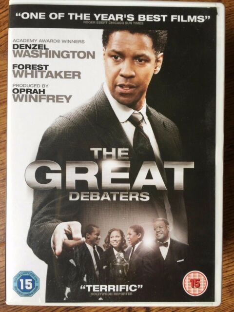 Denzel Washington Forest Whitaker THE GREAT DEBATERS 2007 True Life Drama UK DVD