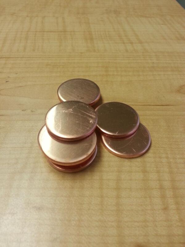 """18 Gauge 3"""" Copper Disc"""