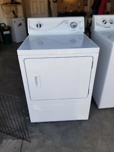 White washer dryer