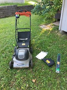 Electric Push Lawnmower