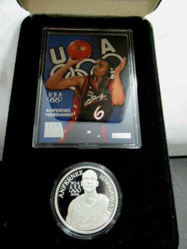 Rare Anfernee Hardaway SILVER MEDAL, Only 500 Minted, 1 Oz Fine 999 Silver