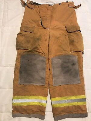 Loin Body Guard Firefighter Turnout Pants Bunker Gear With Liner 36 X 30
