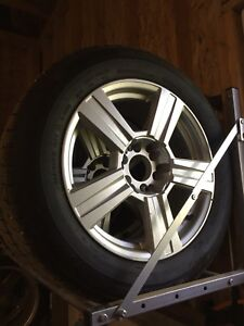 Wanli snow tires and rims 235/60r18