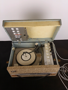 RARE VINTAGE HMV STEREOPHONIC PORTABLE TURNTABLE Alexandria Inner Sydney Preview