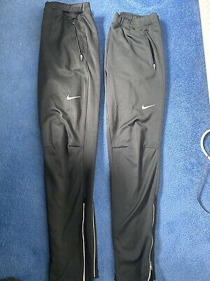 Two nike dri fit  running joggers Size Medium