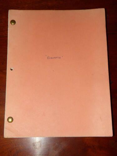 Re-Animator Authentic Early Draft Movie Script Stuart Gordon H.P. Lovecraft