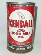 Kendall Motor Oil Can