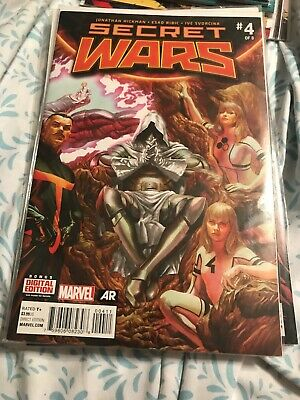 SECRET WARS #9 NEAR MINT 2015 UNREAD COPY #cdec16-2437