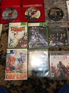 PS3,Xbox 360,wii games