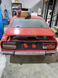 Datsun 240Z licensed. Non matching numbers. Requires attention