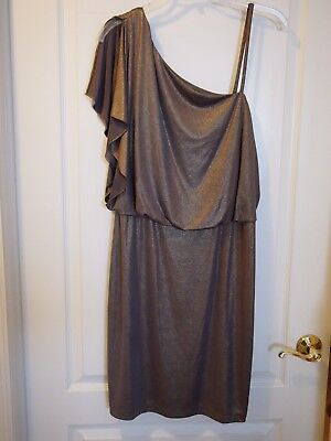 London Times new without tags Shimmery Copper Size 12 Party Dress