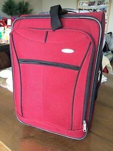 Valise rouge Samsonite