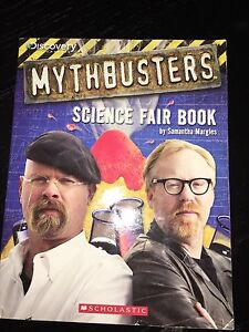 Discoveries myth buster science fair book