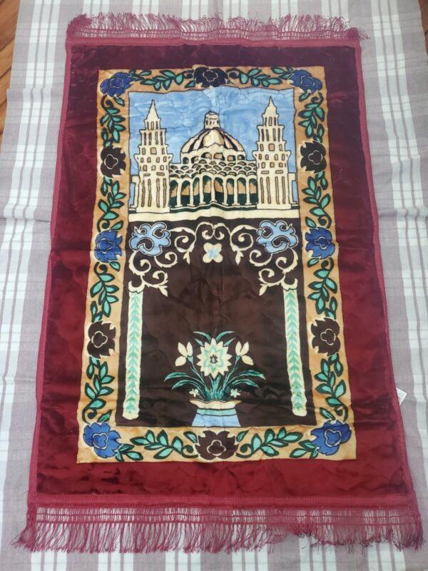 Islamic Thick Foam Padded Prayer Rug -Knee Support- super soft