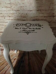 Set of 2 Antique custom finished tables  London Ontario image 5