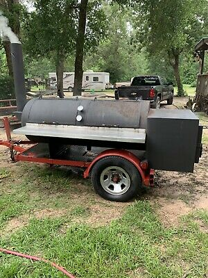 Bbq Pit With Trailer