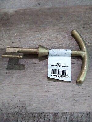 Jones Stephens Corp. M07001 Water Meter Box Key All Brass