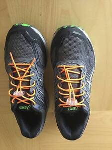 MEN'S ASICS GT-2000 5 TRAIL (2E) RUNNING SHOE USED ONCE Morisset Lake Macquarie Area Preview
