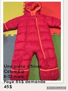 Ensemble d'hiver une pièce / One piece winter suit