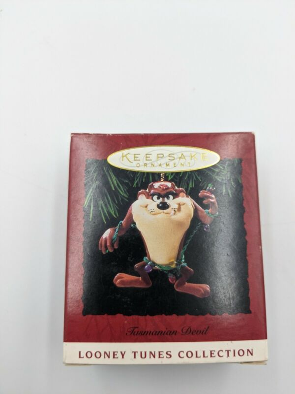 Hallmark 1994 Vintage Keepsake Ornament Taz Tasmanian Devil Looney Tunes