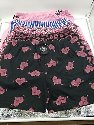 5 Mens Boxer Shorts 100% Cotton Underwear Lot Pack X Large Sty# -