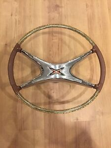 Retro Steering Wheel- Pristine Condition