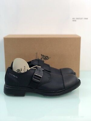Shoe Pezzol 1951 Man Black Model Scud Oil Resistant Made in Italy 41