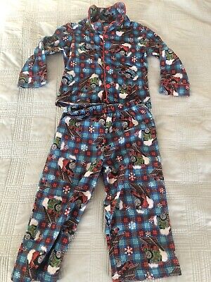 Thomas The Train and Friends Toddler 2 Piece Holiday/Christmas Pajamas (Size 3T)