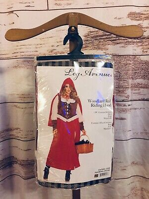 Leg Avenue Deluxe Sexy Adult Woman Woodland Red Riding Hood Costume 1X 2X 16 18