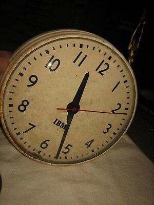 VINTAGE 1950s IBM SELF REGULATING WALL CLOCK FOR PARTS OR RESTORATION ONLY 22 NY, used for sale  Fordland
