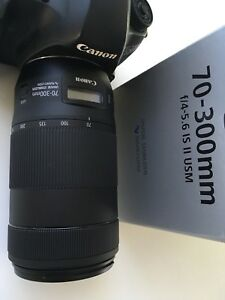 Canon EF 70-300mm IS Nano USM Mark II for 5D 6D 1D 7D 80D Rebel
