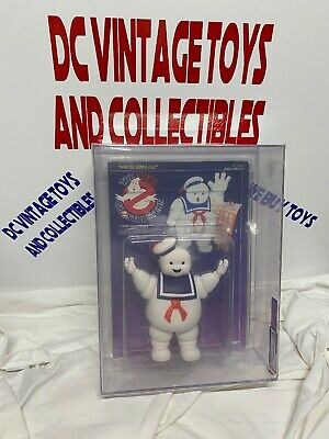 1986 Kenner The Real Ghostbusters Stay Puft  Marshmallow Man UNPUNCHED AFA 75 - Stay Puft Marshmallow
