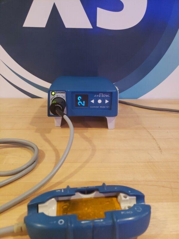GE enFlow Controller 121 980121EU & IV Fluid Blood Warmer Model 100 980105VS