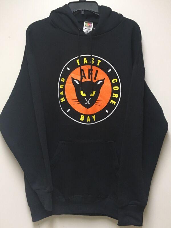 AFI Vintage Kitty Logo East Bay Hard Core Punk Rock Hoodie Sweater A Fire Inside