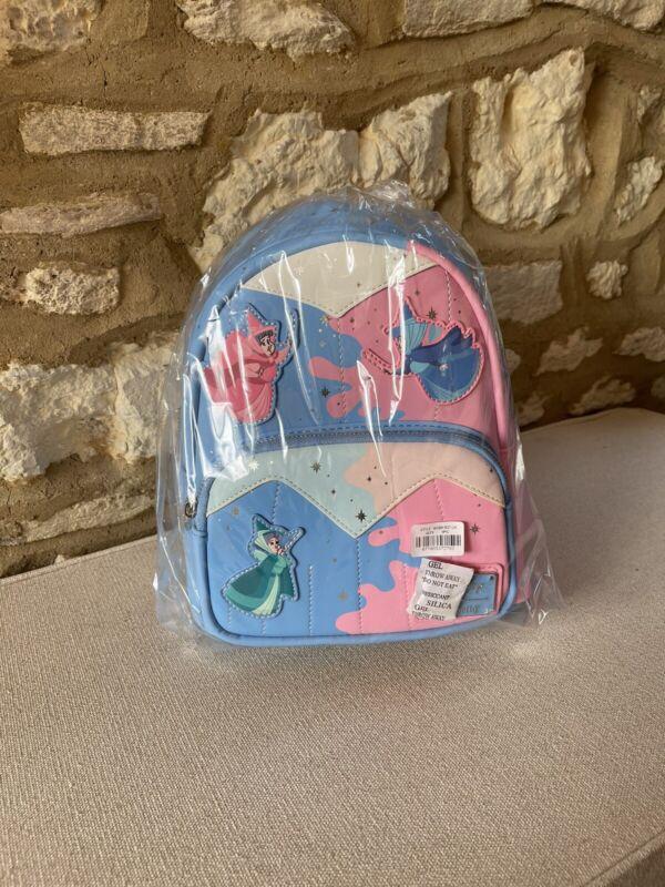 Disney Fairy Godmother Loungefly Funko Mini Bag Back Pack New/sealed.
