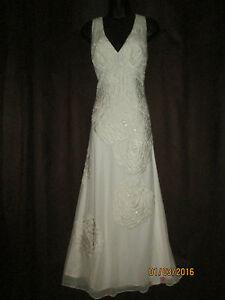 Nicholas Millington Vintage style Wedding/Evening Dress   UK 14