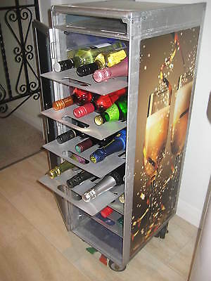 ALUMINIUM WINE TRAY DRAWER SHELF for AIRLINE TROLLEY CATERING CART BOX BAR