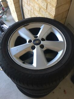 Rims and tyres 205/55R16 from Ford Focus