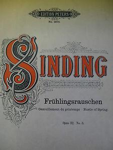 """Christian Sinding: """"Frühlingsrauschen"""" op. 32 Nr. 3 - Mürzzuschlag, Österreich - Christian Sinding: """"Frühlingsrauschen"""" op. 32 Nr. 3 - Mürzzuschlag, Österreich"""