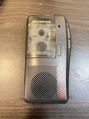 Olympus Pearlcorder S921 Handheld Cassette Voice Recorder Tested It Works
