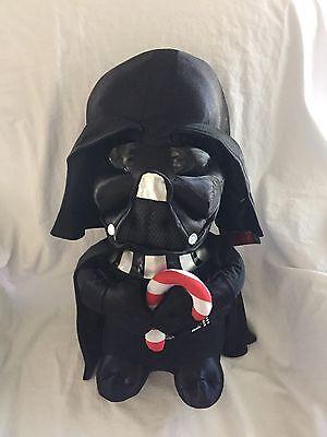 Nwt Darth Vader Große Urlaub Weihnachten Tür Greeter Star Wars Plüsch Candy Cane ()