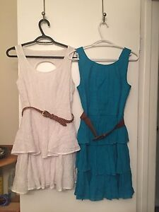 2 Dresses Size 5/6 and 3