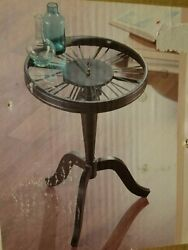 Camden Clock Accent Table