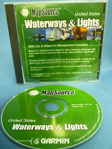 Garmin Mapsource United States Waterways & Lights