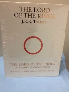 LORD OF THE RINGS: A READER'S COMPANION HARDCOVER 4 PIECE SET