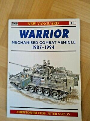 New Vanguard no 10 Warrior MCV 1987 - 1994 Christopher Foss Peter Sarson Osprey