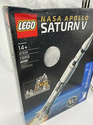 OOP Lego NASA Apollo Saturn V.  HARD TO FIND.  ORIGINAL UNOPENED BOX