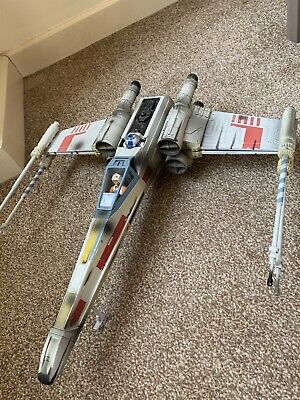 Star Wars X Wing Luke Skywalker Hasbro 2002 Tie Fighter