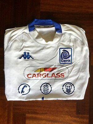 MAGLIA CALCIO KAPPA GENK AWAY 2004-2005 BELGIO FOOTBALL SHIRT JERSEY SIZE M image
